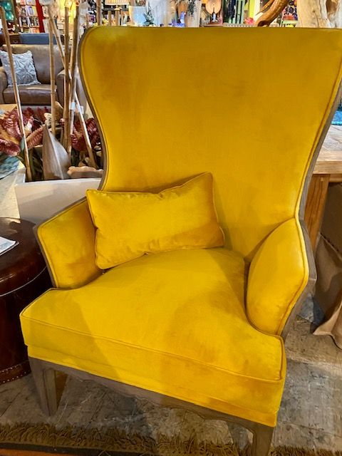 Yellow Accent Chairs, Furniture In St Pete Florida