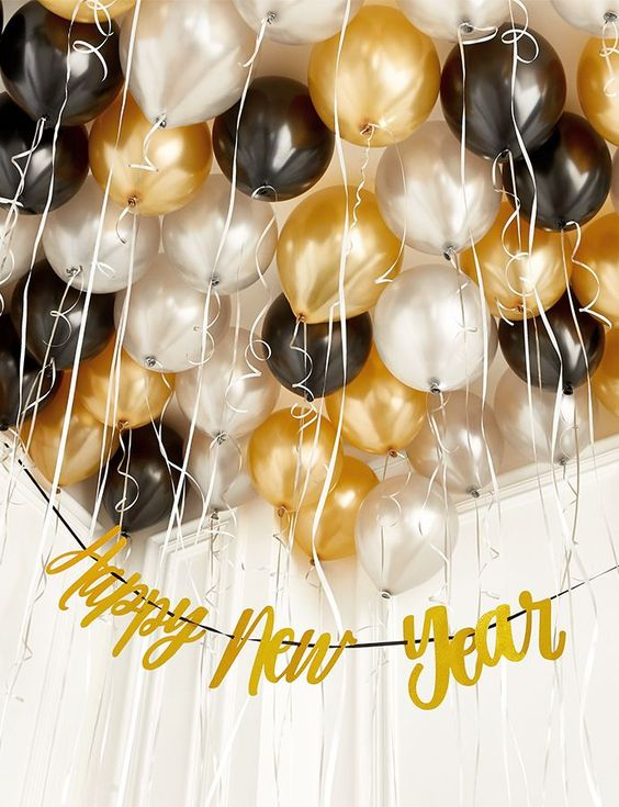New Years Party Ideas #party #decor