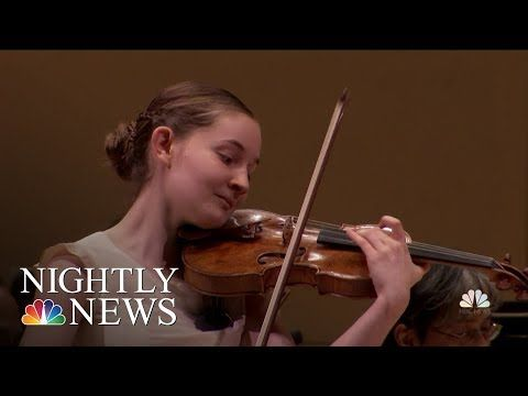 14 Year Old Composer Stuns At Sold Out Show At Carnegie Hall Nbc Nightly News Youtube Nbc Nightly News Nightly News Nbc