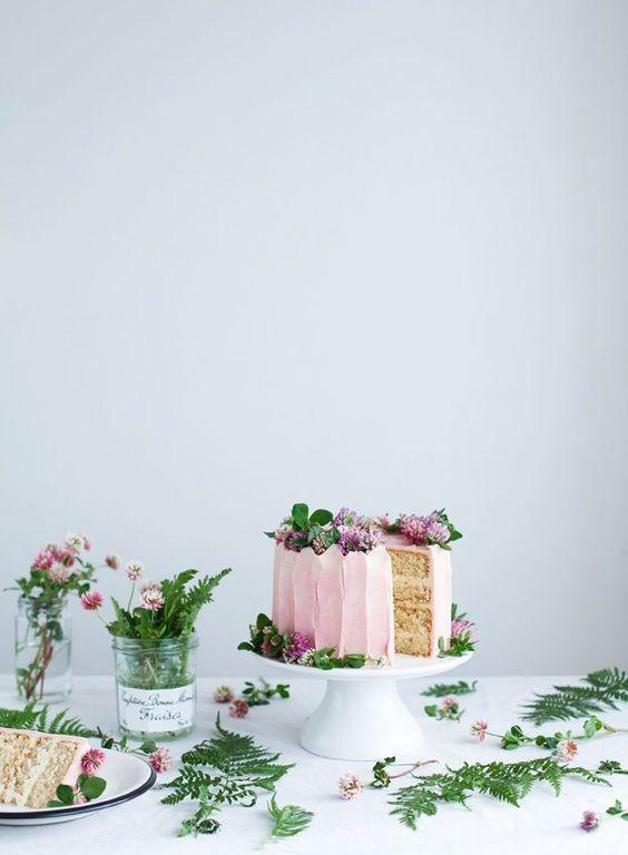 Vanilla bean cake: