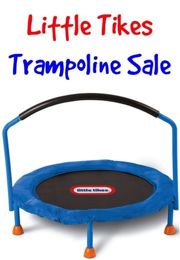Little Tikes Trampoline Sale: $41.99!  Such a great way to keep the kids moving and get those winter wiggles out!