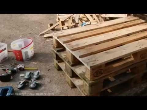 Tuto Fabriquer Tout Seul Un Etabli De Travail En Bois Avec Des Palettes 0 T Deco Caisse En Bois Comment Fabriquer Des Meubles Tuto Table Basse Palette