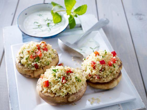 Gefüllte Champignons - köstliche Rezept-Ideen - gefuellte-riesen-champignons-2  Rezept
