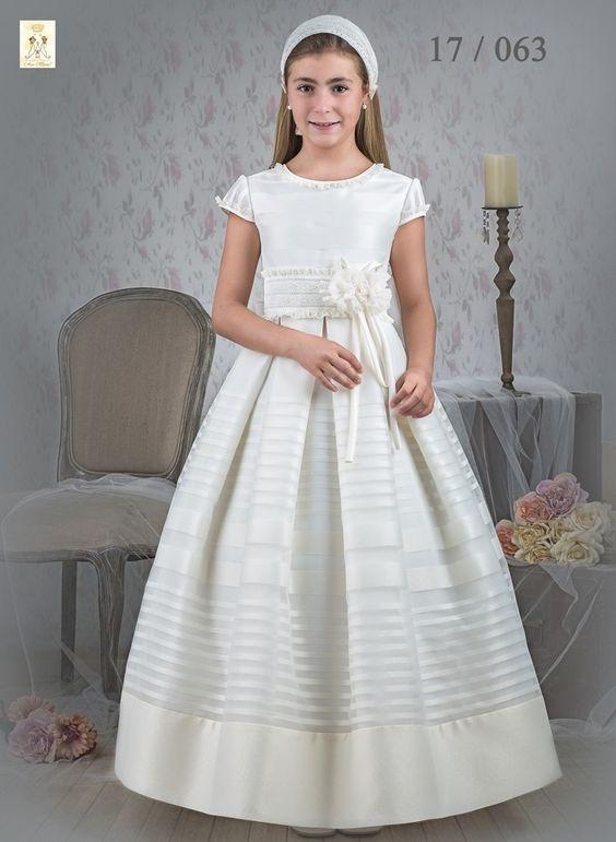 vestidos de primera comunion ave maria