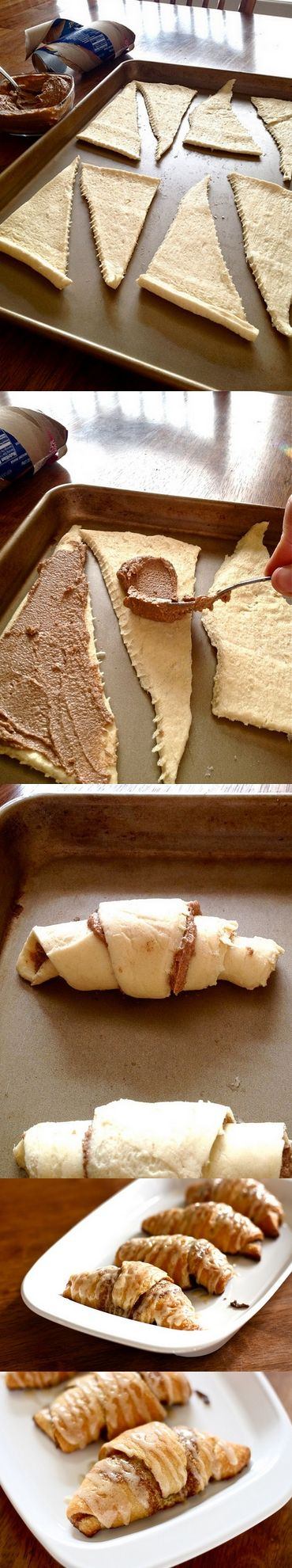 Crescent Cinnamon Rolls.: