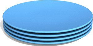 Green Eats™ Snack Plates (4 Pack)