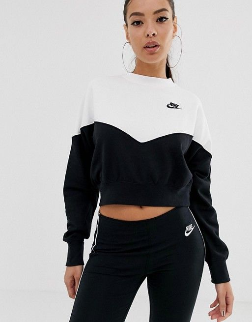 sweat shirt nike blanc