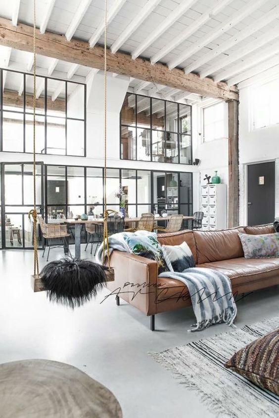 10 Industrial Farmhouse Decorating Ideas for Your Home. #industrialfarmhouse