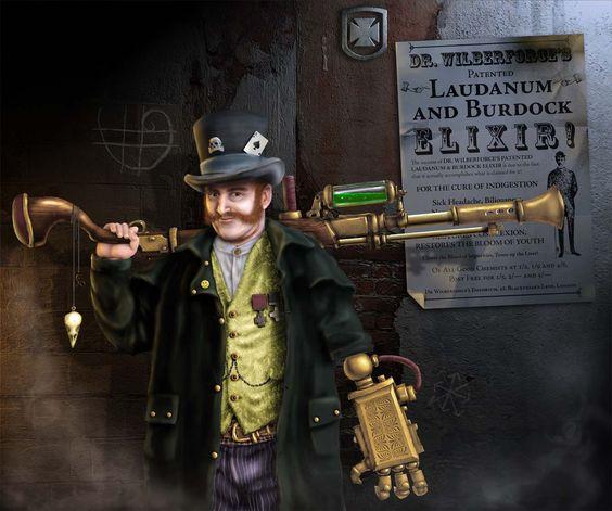 Steampunk Gentleman by ~JohnMalcolm1970 on deviantART