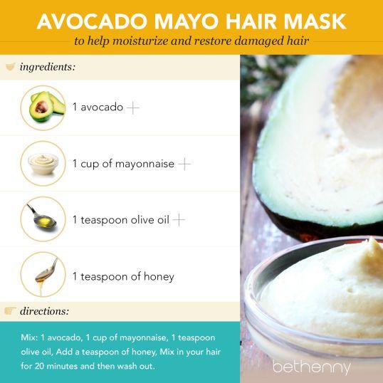 Diy Deep Conditioners With Avocado Mayo Hair Mask Mayonnaise Hair Mask Hair Mask