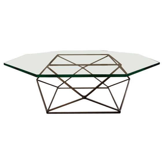 milo baughman geometric table.