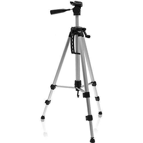 """igadgitz 140cm (55"""") Trépied Portable Aluminium Argenté 3 Section Léger Ajustable pour Caméra et Caméscope avec Sac igadgitz http://www.amazon.fr/dp/B00P2M04NO/ref=cm_sw_r_pi_dp_EJHZub0E19ES5"""