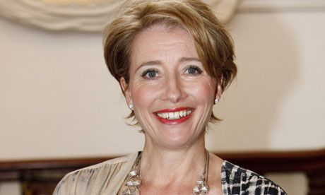 Emma Thompson (Prof Trelawney) - Now