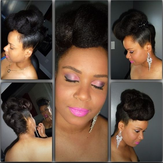 Excellent Elegant Updo Updo And Marley Hair On Pinterest Hairstyles For Women Draintrainus