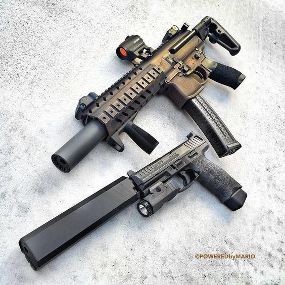 Silence 🔥 vi @poweredbymario #gun