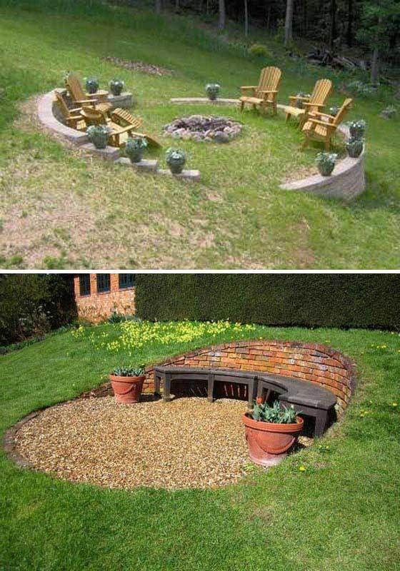 50 Best Sloped Backyard Landscaping Ideas Designs On A Budget For 2021 Sloped Backyard Sloped Backyard Landscaping Backyard Landscaping Designs
