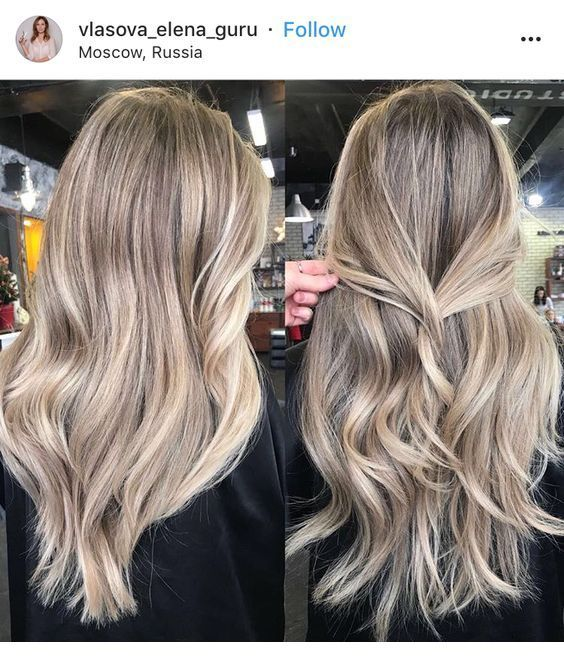 Ash Toffee Hair Tone Balayage Hair Beige Hair Dark Blonde Hair