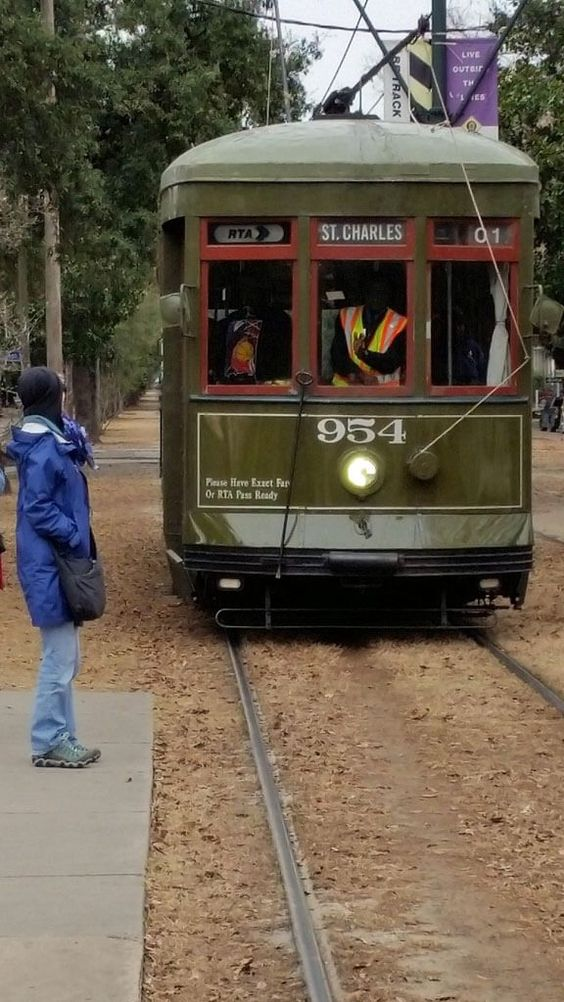 St Charles trolley in New Orleans is the oldest continuously operated street railway in the world.