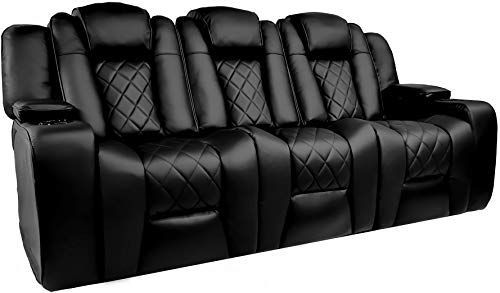 Amazing Offer On Valencia Oxford Home Theater Seating 11000 Top Grain Black Leather Power Recliner Dr In 2020 Home Theater Seating Power Recliners Theater Seating