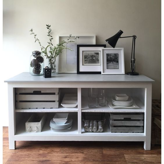 Large Scandi-style Industrial Chic Sideboard