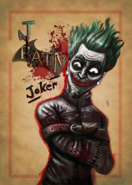 Joker by Umut uzun, via Behance