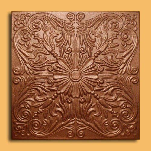 "Astana Copper (20""x20"" Foam) Ceiling Tile by Antique Ceilings, http://www.amazon.com/dp/B008E0BEVW/ref=cm_sw_r_pi_dp_aeharb0NVD22N 3.00 ea"