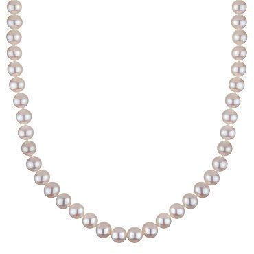 $337.50 Honora 8.5-9.5mm White Freshwater Pearl Necklace