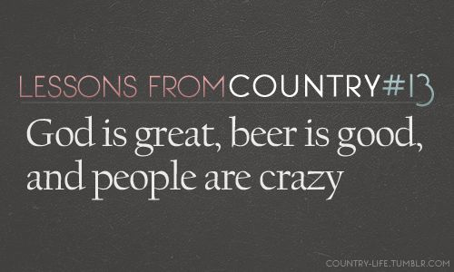 Love this blog-- Lessons from Country Music! <3