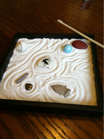 easy zen garden in a box