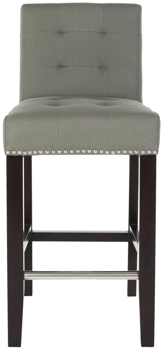 Amazon.com - Safavieh Thompson Counter Stool - Barstools With Backs