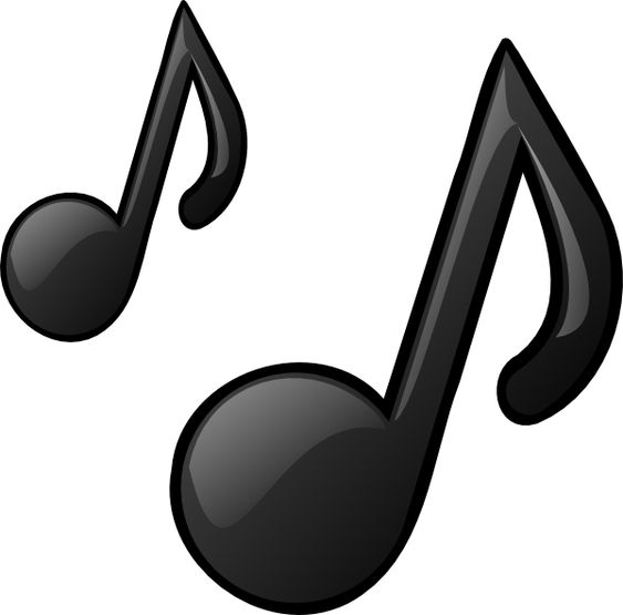 pictures of music notes | Music Notes clip art - vector ...