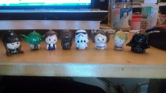 Star Wars Chibi Charms by DavisDesign12 on Etsy, $5.00