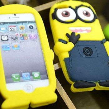 Capa Iphone 4/4s - Minions