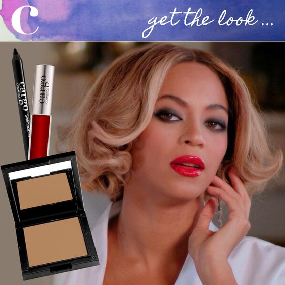 """Recreate Beyonce's """"Partition"""" Music Video look by using Lip Gloss in Prague and Swimmables Eye Pencil in Black Sea for a smudged smokey eye line. 