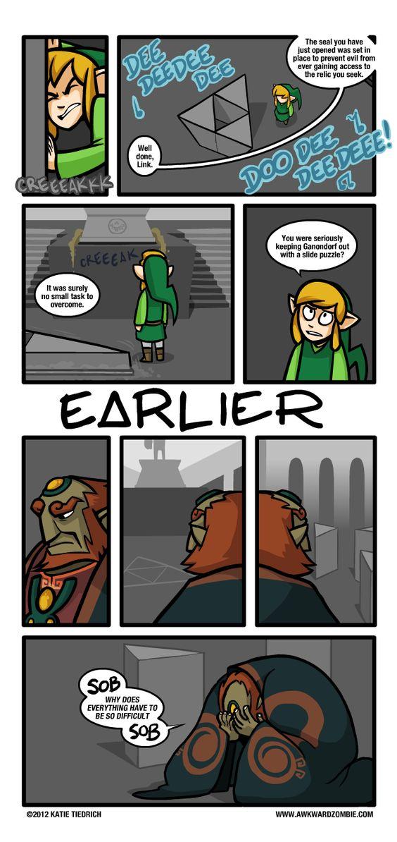 Strip de Awkward Zombie