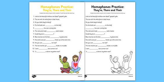 new homophones practice worksheet they 39 re there their twinkl educational resources. Black Bedroom Furniture Sets. Home Design Ideas