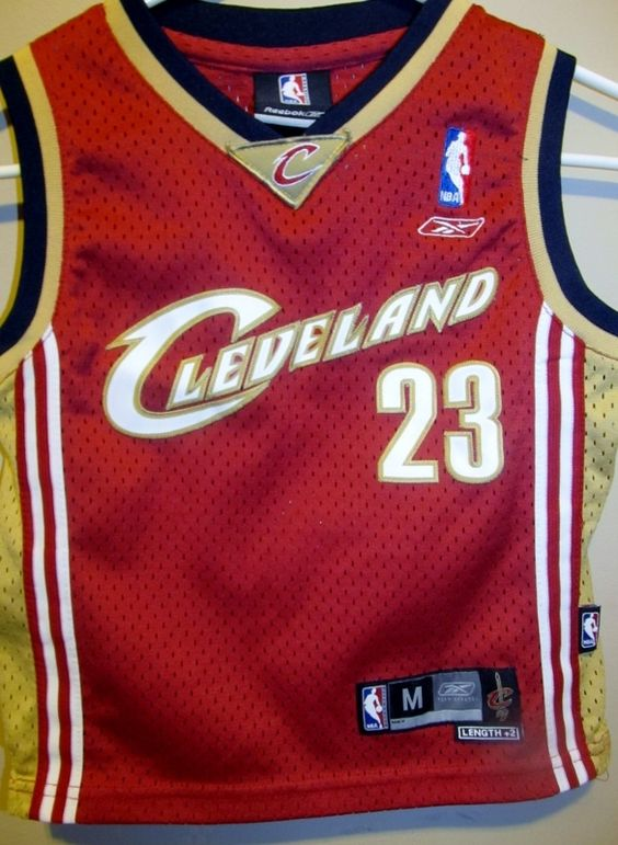 Lebron James Cleveland Cavaliers Authentic jersey , Toddler 5T ...