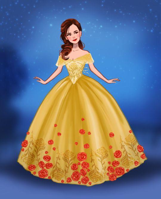 I ADORE THIS I ADORE THIS I ADORE THIS .... Emma Watson as Belle: