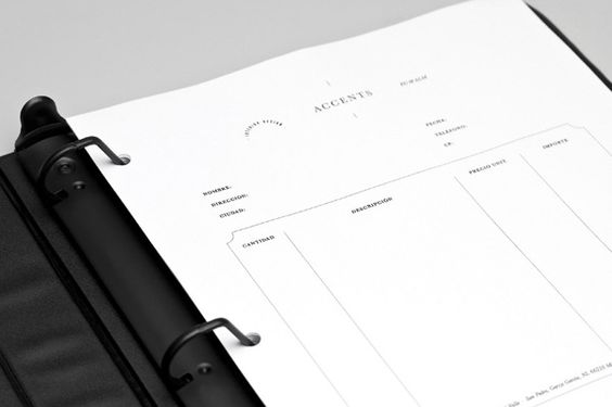 Accents designed by LaTortilleria #stationery #invoice: Branding Design, Invoice Design, Accents Designed, Latortilleria Stationery, Branding Logos, Branding Identity