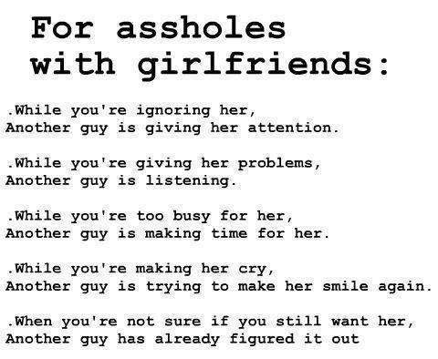 Quotes about asshole boyfriends remarkable