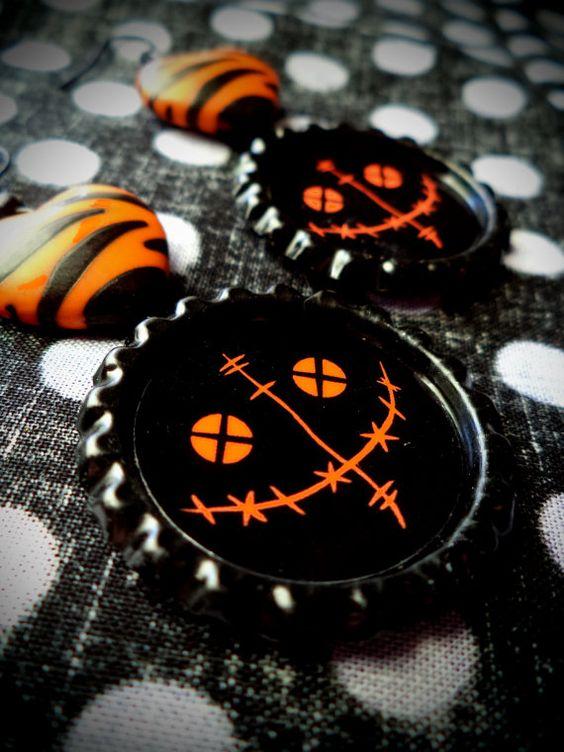 SAM earrings by LttleShopOfHorrors on Etsy, $6.75