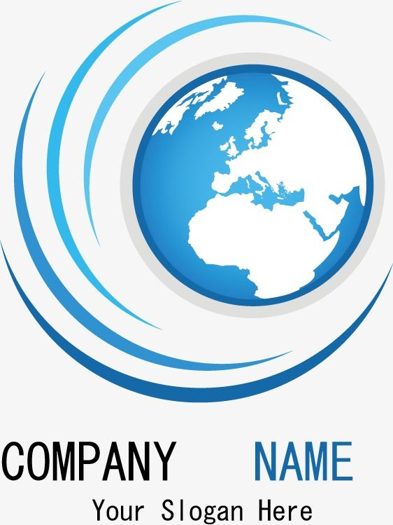 Earth Logo Png : earth, Creative, Company,, Blue,, Business, Transparent, Clipart, Image, Download, Earth, Logo,, Company
