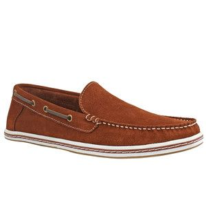 Venetian Suede Boat Shoe Brown now featured on Fab.