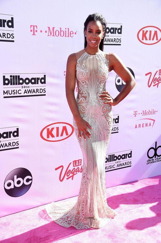 Kelly Rowland in Labourjoisie bei den Billboard Music Awards