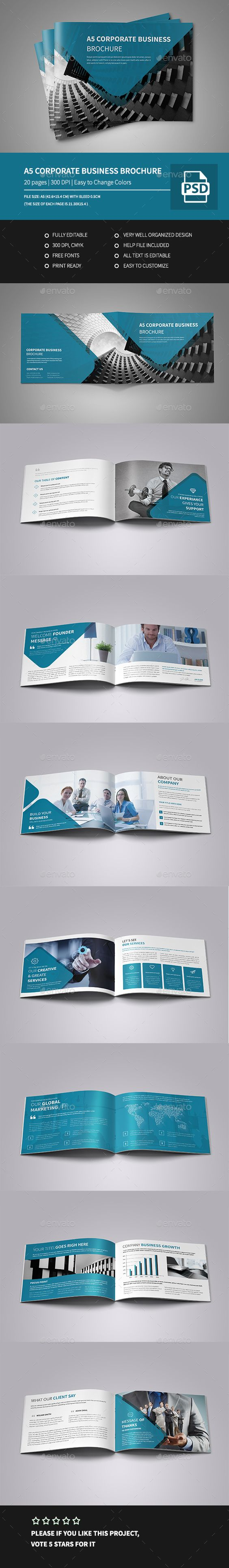 a5 landscape brochure template - pinterest the world s catalog of ideas