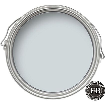 Farrow & Ball Light Blue paint color swatch.