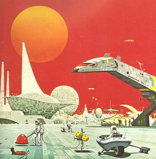 10 Cool Sci Fi Retro Artworks: Ace Retro SkyFy Fantasy