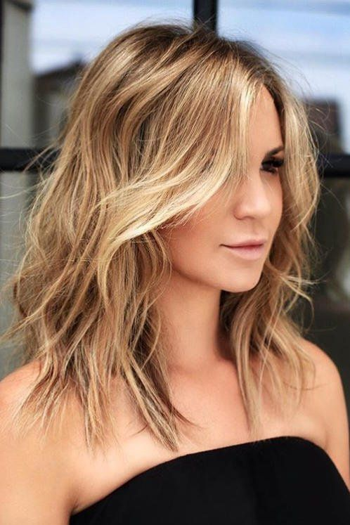 30+ Medium short hair cuts inspirations