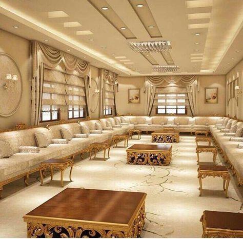 كنبات مجالس رجال ونساء فخمة مغربي وخليجي قصر الديكور Ceiling Design Living Room False Ceiling Design False Ceiling Living Room