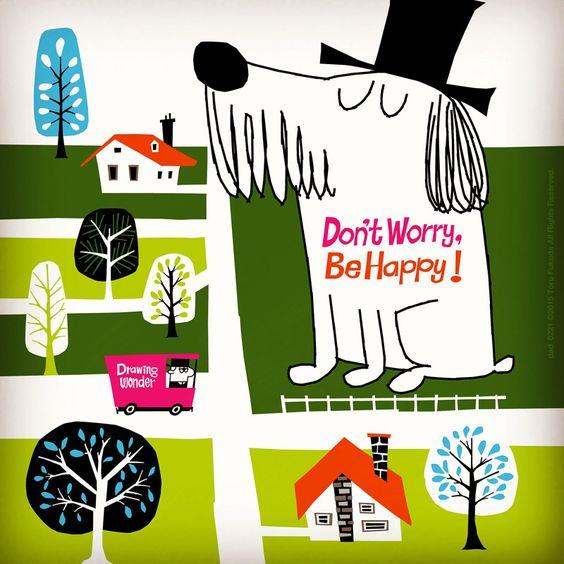 街とおしゃれでかっこいい犬の壁紙